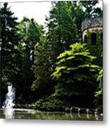 Longwood Garden Castle Metal Print