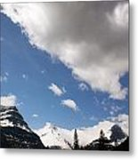 Look Out Here Come The Clouds Metal Print
