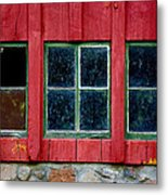 Look Throught Any Window Metal Print