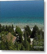 Looking Down On Dyers Bay Metal Print