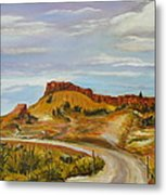 Looking For The Hoodoos Metal Print
