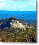 Looking Glass Mountain Blue Ridge Parkway Metal Print