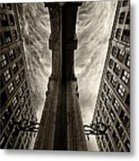 Looking Into The Past... Metal Print