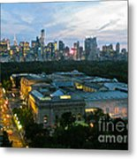 Looking South Nyc Metal Print by Randi Shenkman