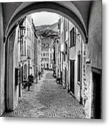 Looking Through Graach Gate Metal Print