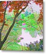 Looking Through The Trees  Metal Print