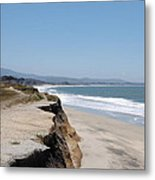 Looking Toward Half Moon Bay Metal Print