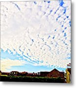 Looking Up Above 2 Metal Print