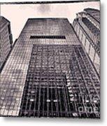 Looking Up Philadelphia 5 Metal Print