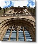 Looking Up To God Metal Print