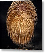 Lopez Island Fireworks 1 Metal Print