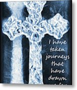 Lord Have Mercy With Lyrics Metal Print