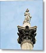 Lord Nelson's Column Metal Print