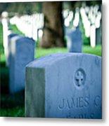 Los Angeles Cemetery I  Metal Print