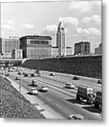 Los Angeles In The 1950s Metal Print