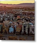 Los Angeles Vista Metal Print by Photo taken by Phong Ho