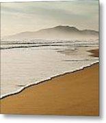 Los Lances Beach Along Costa De La Luz Metal Print