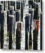 Lost Dock Metal Print