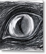 Lost In The Eye Of Your Past Metal Print