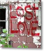 Lost Love Metal Print