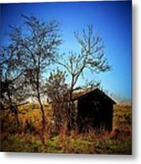 Lost Shed Metal Print