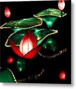 Lotus Lanterns 4 Metal Print