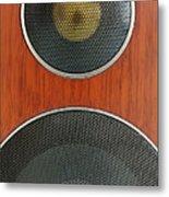 Loudspeaker Metal Print by Luigi Masella