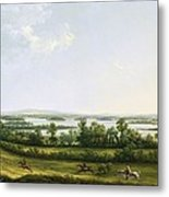 Lough Erne From Knock Ninney - With Bellisle In The Distance Metal Print