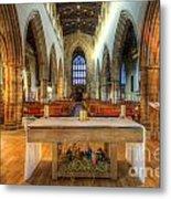 Loughborough Church Altar Metal Print