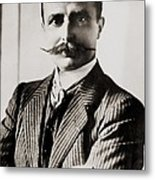 Louis Bleriot Was The First Man To Fly Metal Print by Everett