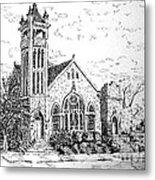 Louisianna Church 1 Metal Print