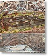 Louisville 1883 Metal Print