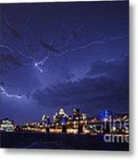 Louisville Storm - D001917b Metal Print