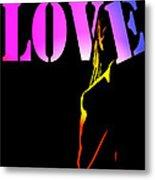 Love And Shadows Metal Print