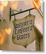 Love At The Patisserie Metal Print