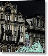 Love Each Other And Wish The Truth To Everyone - Jan Hus Prague Metal Print