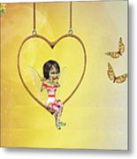 Love Fairy Metal Print
