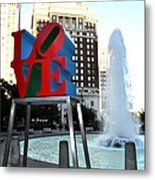 Love Is ..... A Four Letter Word Metal Print