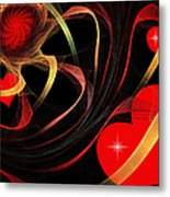 Love Is A Gift From The Heart Metal Print