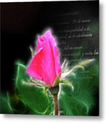 Love Is Electrifying Metal Print