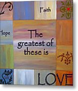 Love Is Everything Metal Print