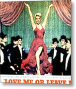 Love Me Or Leave Me, Doris Day, 1955 Metal Print