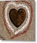 Love On The Beach Metal Print