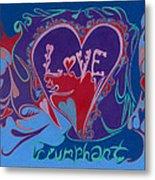 Love Triumphant 2nd Of 3  Metal Print