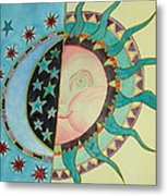 Love You Day And Night Metal Print