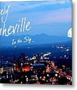 Lovely Asheville Metal Print