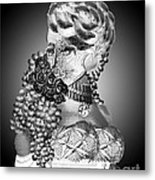 Lovely Lady Metal Print