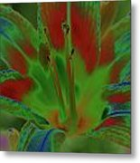 Lovely Lilly Metal Print