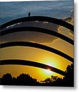 Lovely Sunset Metal Print