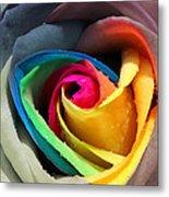 Lover's Rose Metal Print